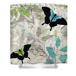 Aloft I Shower Curtain by Mindy Sommers