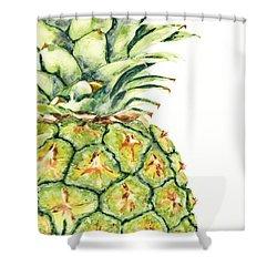Aloha Again Shower Curtain by Marsha Elliott