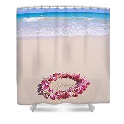 Aloha Shower Curtain by Mary Van de Ven - Printscapes