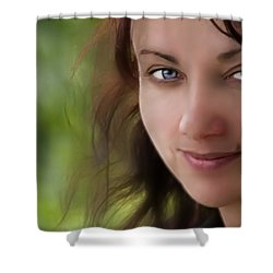 Always On My Mind Shower Curtain by Evelina Kremsdorf