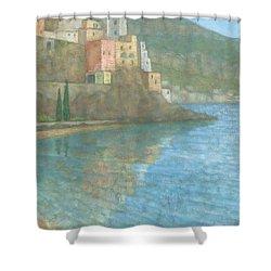 Amalfi Shower Curtain by Steve Mitchell