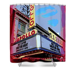 Amateur Night At The Apollo Shower Curtain by Ed Weidman