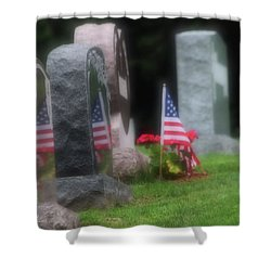 American Reflections Shower Curtain by Karol Livote