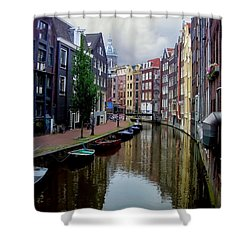 Amsterdam Shower Curtain by Heather Applegate