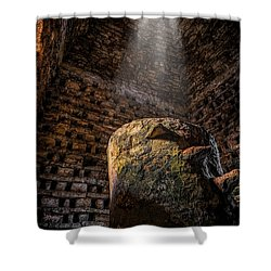 Ancient Dovecote Shower Curtain by Adrian Evans