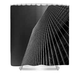 Angles Shower Curtain by Martin Newman