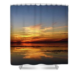 Shower Curtain featuring the photograph Another Day by Thierry Bouriat