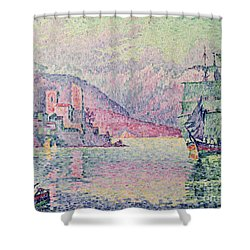 Antibes Shower Curtain by Paul Signac