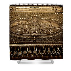 Antique Ncr Shower Curtain by Christopher Holmes