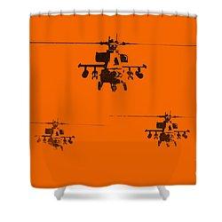 Apache Dawn Shower Curtain by Pixel  Chimp