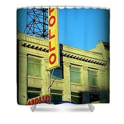 Apollo Vignette Shower Curtain by Ed Weidman