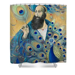 Aquarius Shower Curtain by Annael Anelia Pavlova