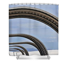 Area 13 Shower Curtain by Skip Hunt