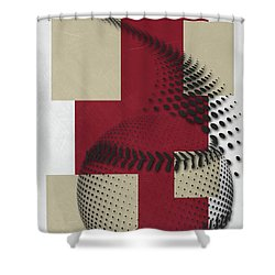 Arizona Diamondbacks Art Shower Curtain by Joe Hamilton
