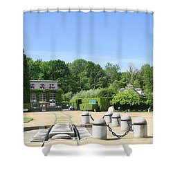 Shower Curtain featuring the photograph Armistice Clearing In Compiegne by Travel Pics