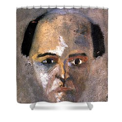 Arnold Schoenberg Shower Curtain by Granger