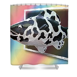 Art Fish Fun Shower Curtain by Brian Wallace