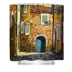 Arta-mallorca Shower Curtain by Guido Borelli
