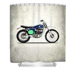 The 1969 Griffon Shower Curtain by Mark Rogan