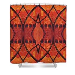 Dusk Shower Curtain by Leana De Villiers