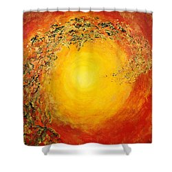 Ascending Light Shower Curtain by Tara Thelen - Printscapes