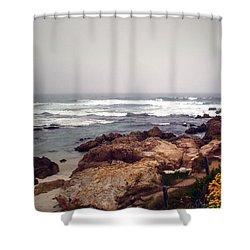 Asilomar Beach Pacific Grove Ca Usa Shower Curtain by Joyce Dickens