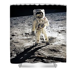 Astronaut Shower Curtain by Photo Researchers