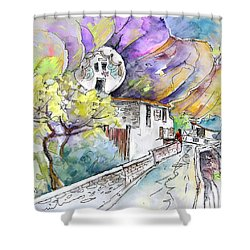 Autol In La Rioja Spain 03 Shower Curtain by Miki De Goodaboom