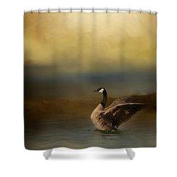 Autumn Afternoon Splash Shower Curtain by Jai Johnson