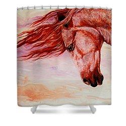 Autumn Breeze Shower Curtain by Sherry Shipley