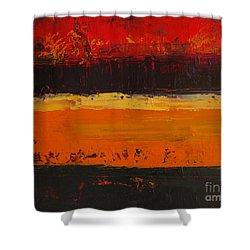 Autumn Day Shower Curtain by Patricia Awapara