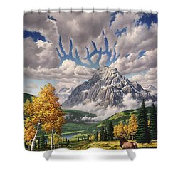 Autumn Echos Shower Curtain by Jerry LoFaro