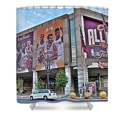 Home Team Champions Shower Curtain by Frozen in Time Fine Art Photography