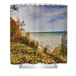 Shower Curtain featuring the photograph Autumn Magic by Rodney Campbell