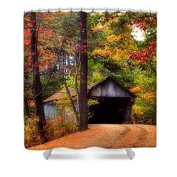 Autumn Wonder Shower Curtain by Joann Vitali