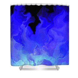 Awake My Soul - Abstract Art Shower Curtain by Jaison Cianelli