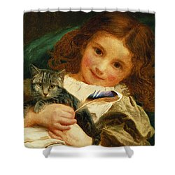 Awake Shower Curtain by Sophie Anderson