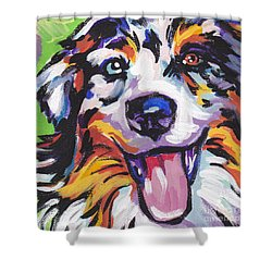 Awesome Aussie Shower Curtain by Lea S