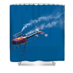 Backflip Shower Curtain by Sebastian Musial