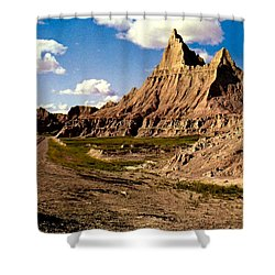 Badlands National Park  Shower Curtain by Ruth  Housley