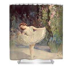 Ballet Shower Curtain by Septimus Edwin Scott