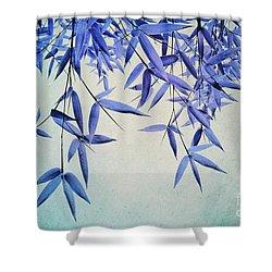 Bamboo Susurration Shower Curtain by Priska Wettstein
