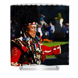 Band Leader Shower Curtain by David Lee Thompson