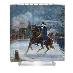 Battle Of Trenton, 1776 Shower Curtain by Granger