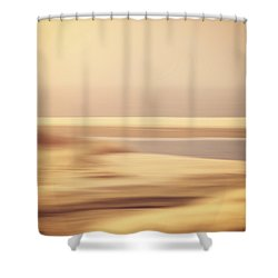 Beachscape Shower Curtain by Wim Lanclus