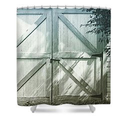 Beauty's Where You Find It Shower Curtain by Heidi Hermes