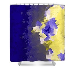 Becoming Visable Shower Curtain by Amanda Barcon