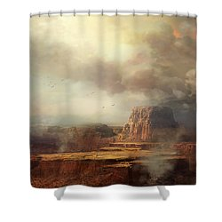 Before The Rain Shower Curtain by Philip Straub