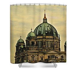 Berlin Architecture Shower Curtain by Jon Berghoff
