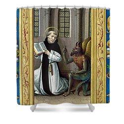 Bernard De Clairvaux Shower Curtain by Granger